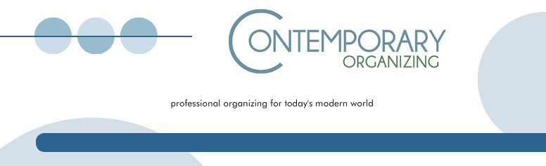 Contemporary Organizing - professional organizing for today's modern world